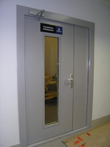 металлические противопожарные двери са